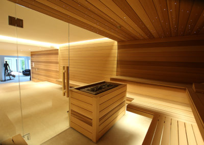 Atelier Wellness fabrication de sauna suisse